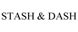 mark for STASH & DASH, trademark #85529764