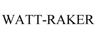mark for WATT-RAKER, trademark #85530163