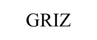 mark for GRIZ, trademark #85530573