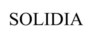 mark for SOLIDIA, trademark #85530663