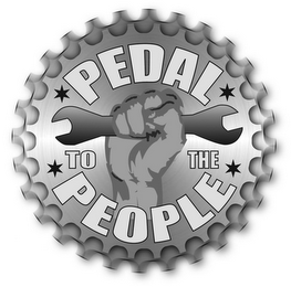 mark for PEDAL TO THE PEOPLE, trademark #85530766