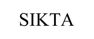 mark for SIKTA, trademark #85530969