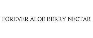 mark for FOREVER ALOE BERRY NECTAR, trademark #85531122