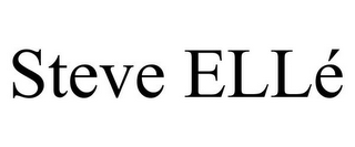 mark for STEVE ELLÉ, trademark #85531240