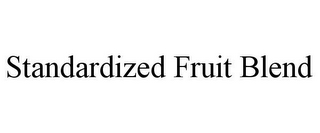 mark for STANDARDIZED FRUIT BLEND, trademark #85531270