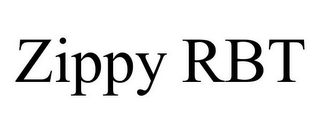 mark for ZIPPY RBT, trademark #85531943