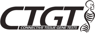 mark for CTGT CONNECTIVE TISSUE GENE TESTS, trademark #85532023