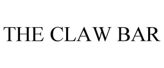 mark for THE CLAW BAR, trademark #85532090