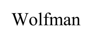 mark for WOLFMAN, trademark #85532139