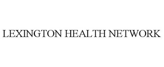 mark for LEXINGTON HEALTH NETWORK, trademark #85532263