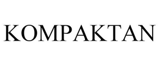 mark for KOMPAKTAN, trademark #85532274