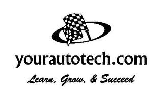 mark for YOURAUTOTECH.COM LEARN, GROW, & SUCCEED, trademark #85532731