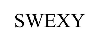 mark for SWEXY, trademark #85532782