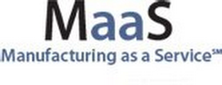 mark for MAAS MANUFACTURING AS A SERVICE, trademark #85533030