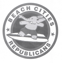 mark for BEACH CITIES REPUBLICANS, trademark #85533271