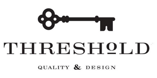 mark for THRESHOLD QUALITY & DESIGN, trademark #85533476