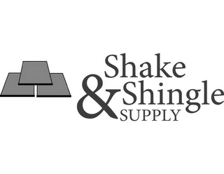 mark for SHAKE & SHINGLE SUPPLY, trademark #85533606