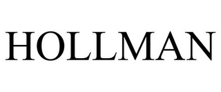 mark for HOLLMAN, trademark #85533619