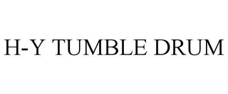 mark for H-Y TUMBLE DRUM, trademark #85533642