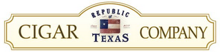 mark for REPUBLIC OF TEXAS CIGAR COMPANY, trademark #85533814