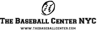 mark for THE BASEBALL CENTER NYC WWW.THEBASEBALLCENTER.COM, trademark #85533847