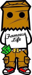mark for FAMOUS LIFE FL, trademark #85533858