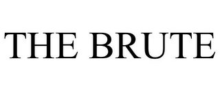 mark for THE BRUTE, trademark #85533961