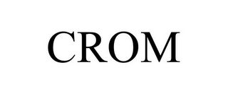 mark for CROM, trademark #85534055