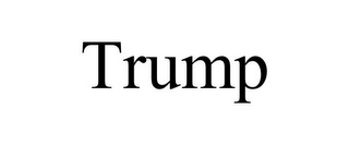 mark for TRUMP, trademark #85534080