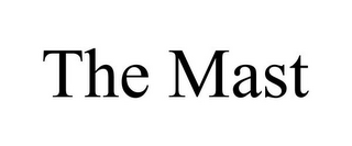 mark for THE MAST, trademark #85534287