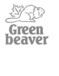 mark for GREEN BEAVER, trademark #85534676