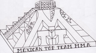mark for MEXICAN TOP TEAM MMA, trademark #85534732