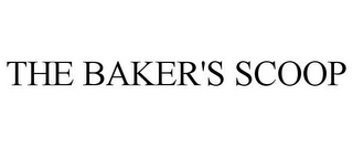 mark for THE BAKER'S SCOOP, trademark #85534854