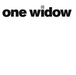 mark for ONE WIDOW, trademark #85534929