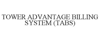 mark for TOWER ADVANTAGE BILLING SYSTEM (TABS), trademark #85535211