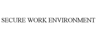 mark for SECURE WORK ENVIRONMENT, trademark #85535218