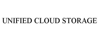 mark for UNIFIED CLOUD STORAGE, trademark #85535692