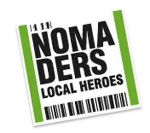 mark for NOMADERS LOCAL HEROES, trademark #85535777