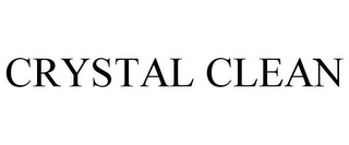 mark for CRYSTAL CLEAN, trademark #85536027