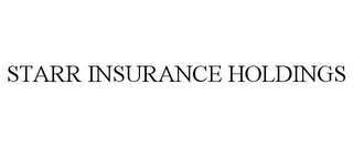 mark for STARR INSURANCE HOLDINGS, trademark #85536146