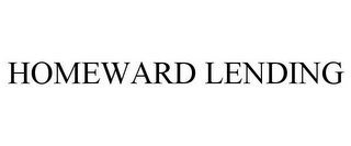 mark for HOMEWARD LENDING, trademark #85536385