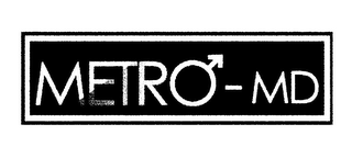 mark for METRO- MD, trademark #85536395