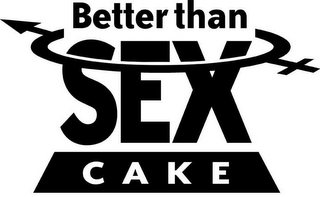 mark for BETTER THAN SEX CAKE, trademark #85536491