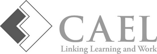 mark for CAEL LINKING LEARNING AND WORK, trademark #85536536