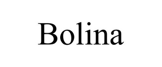mark for BOLINA, trademark #85536551
