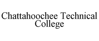 mark for CHATTAHOOCHEE TECHNICAL COLLEGE, trademark #85536709