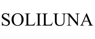 mark for SOLILUNA, trademark #85536789