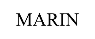 mark for MARIN, trademark #85537002