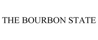 mark for THE BOURBON STATE, trademark #85537348