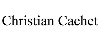 mark for CHRISTIAN CACHET, trademark #85537359